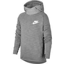 Image of   Nike Hættetrøje NSW Advance 15 - Grå/Hvid Børn