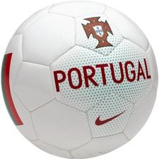 portugal football supporter - white/kinetic green/gym red - footballs