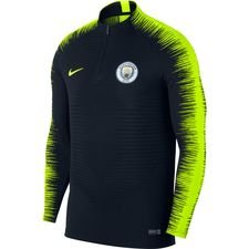 Manchester City Trainingsshirt Strike 2.0 VaporKnit - Navy/Neon