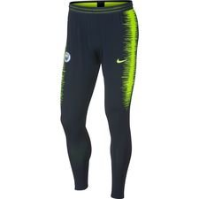 Manchester City Trainingsbroek Strike 2.0 VaporKnit - Navy/Neon