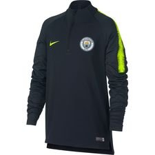 Manchester City Trainingsshirt Dry Squad Drill - Navy/Neon Kinderen