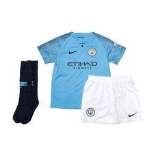 Manchester City Hemmatröja 2018/19 Mini-Kit Barn