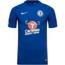 Chelsea Tränings T-Shirt Breathe Squad - Blå/Vit