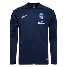 Paris Saint-Germain Träningsjacka Anthem - Navy/Vit