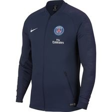 paris saint germain training jacket anthem - midnight navy/white - training jackets