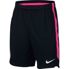 Paris Saint-Germain Shorts Dry Squad - Svart/Rosa Barn