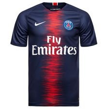 paris saint germain home shirt 2018/19 - football shirts