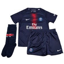 ebc478f0389 Paris Saint Germain Home Shirt 2018 19 Mini-Kit Kids