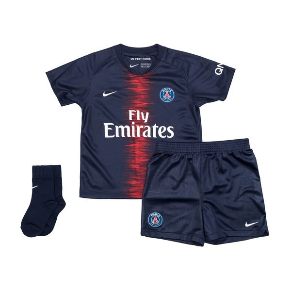 c580062d €60. Price is incl. 19% VAT. -50%. Paris Saint Germain Home Shirt 2018/19  Baby-Kit Kids