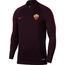 roma training shirt dry squad drill - burgundy/habanero red - training tops