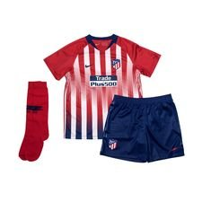 Atletico Madrid Hemmatröja 2018/19 Mini-Kit Barn