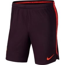 roma training shorts dry squad - burgundy/habanero red - training shorts
