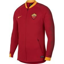 roma training jacket anthem - team crimson/university gold - training jackets