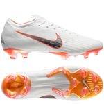 Nike Mercurial Vapor 12 Elite FG Just Do It - Hvid/Orange
