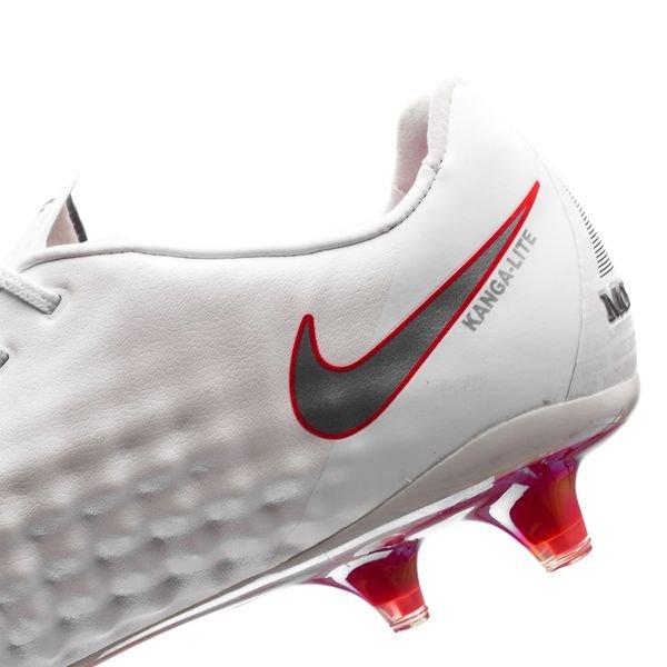 finest selection e7844 f6617 Nike Magista Obra 2 Elite FG Just Do It - Blanc Rouge Cramoisi 9