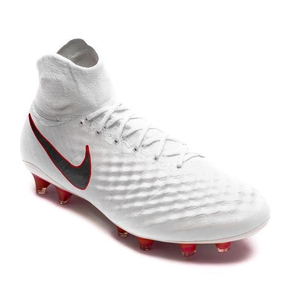 new style 8de8a b3b93 Nike Magista Obra 2 Elite DF FG Just Do It - Vit Röd