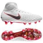 Nike Magista Obra 2 Elite DF FG Just Do It - Blanc/Rouge Cramoisi