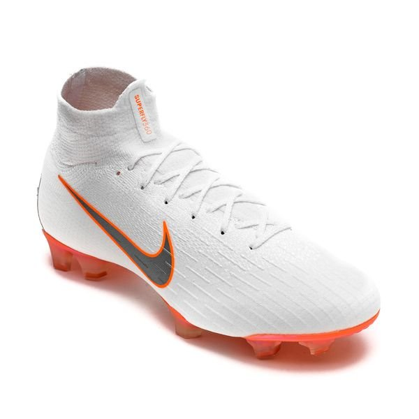 photos officielles 1e663 6d586 Nike Mercurial Superfly 6 Elite FG Just Do It - White/Total ...