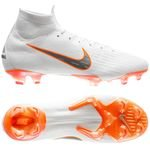 Nike Mercurial Superfly 6 Elite FG Just Do It - Hvid/Orange