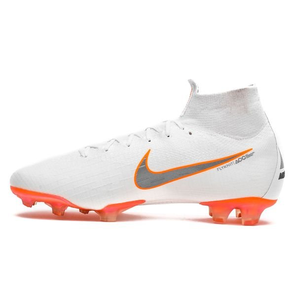 d7eedd3bf Nike Mercurial Superfly 6 Elite FG Just Do It - White Total Orange ...