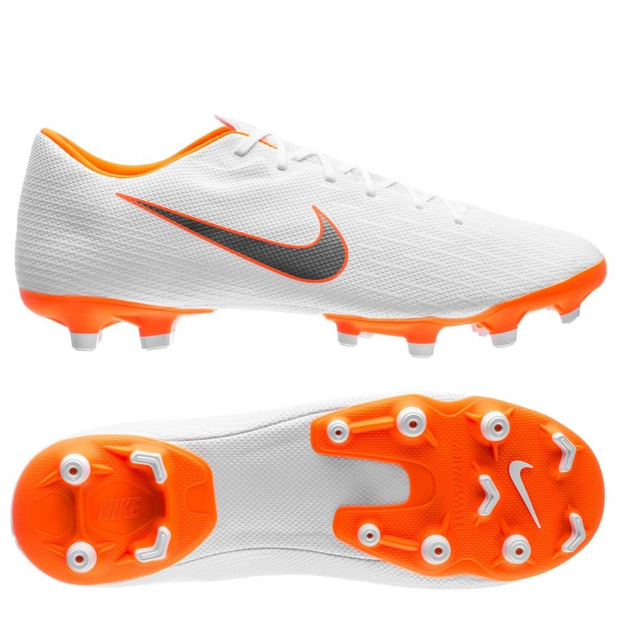 Nike Mercurial Vapor 12 Academy MG - Hvid/Orange