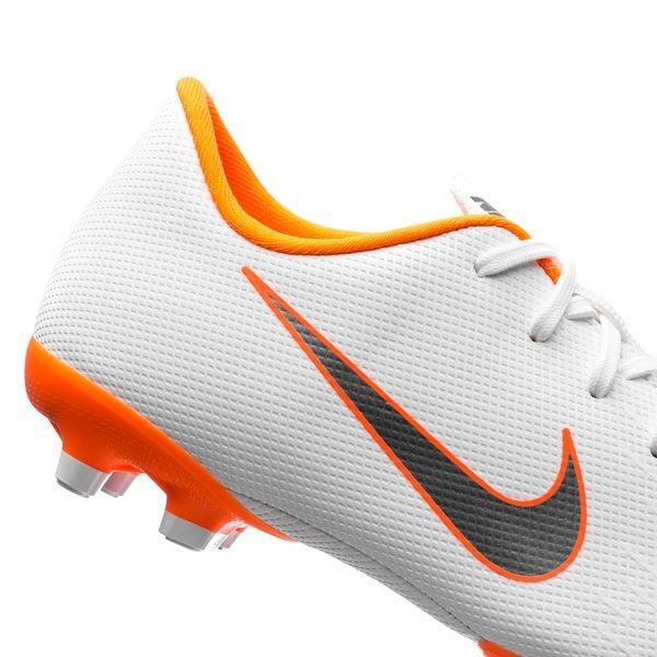 b033d027932 Nike Mercurial Vapor 12 Academy MG Just Do It - White/Total Orange ...