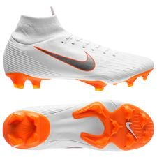 nike mercurial superfly 6 pro fg just do it - hvid/orange - fodboldstøvler