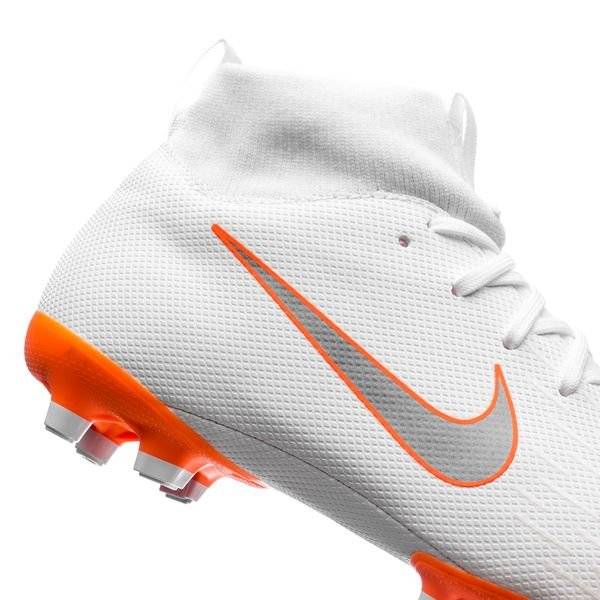 8dde476b4bcf Nike Mercurial Superfly 6 Academy MG Just Do It - White Total Orange Kids