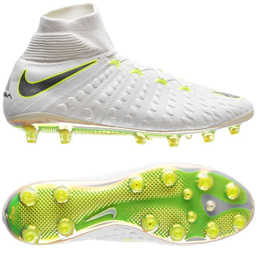 Nike Hypervenom Phantom 3 Elite DF AG-PRO Just Do It - White Volt ... abdf88b9ea618