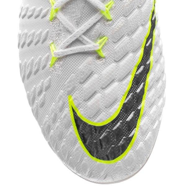 7af2b64f Nike Hypervenom Phantom 3 Elite FG Just Do It - White/Volt | www ...