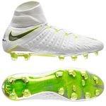 Nike Hypervenom Phantom 3 Elite DF FG Just Do It - Blanc/Jaune Fluo