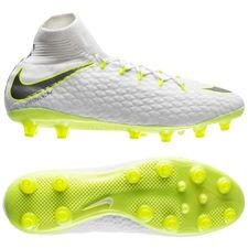 Nike Hypervenom Phantom 3 Pro DF AG-PRO Just Do It - Wit/Neon