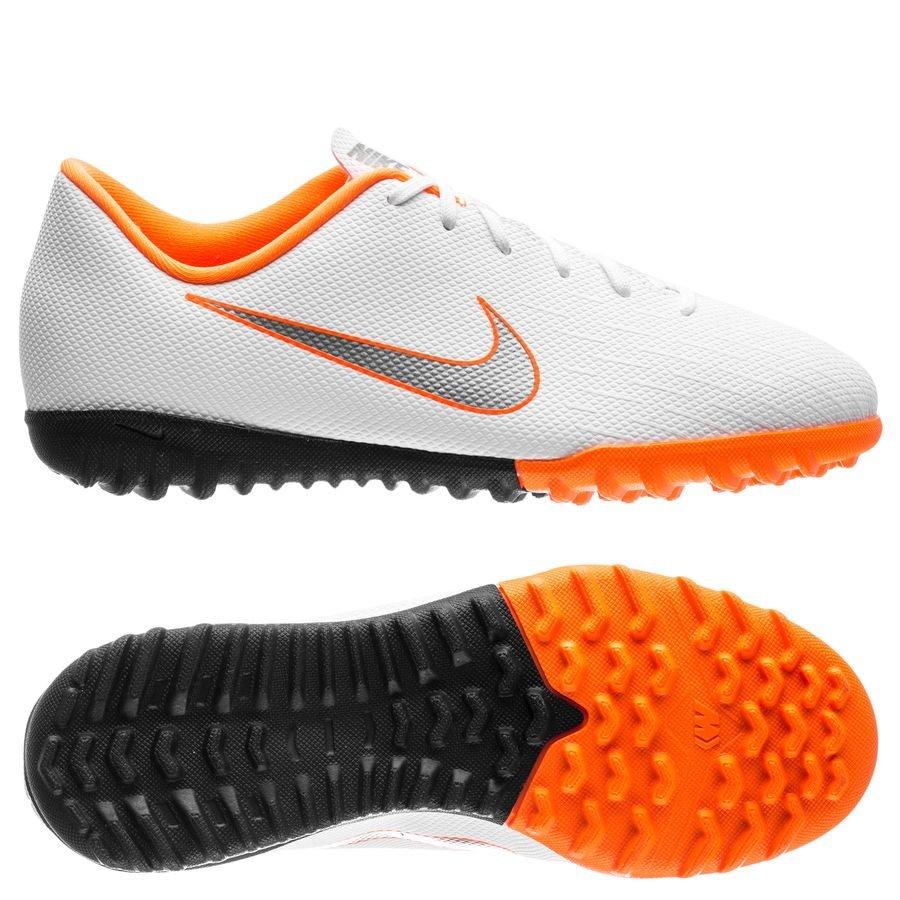 online store 9b4a4 0b4ac nike mercurial vaporx 12 academy tf just do it - weiß/orange kinder -  fußballschuhe
