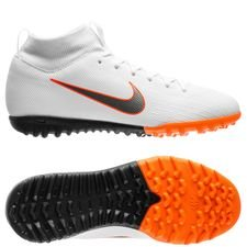 Nike Mercurial SuperflyX 6 Academy TF Just Do It - Wit/Oranje Kinderen