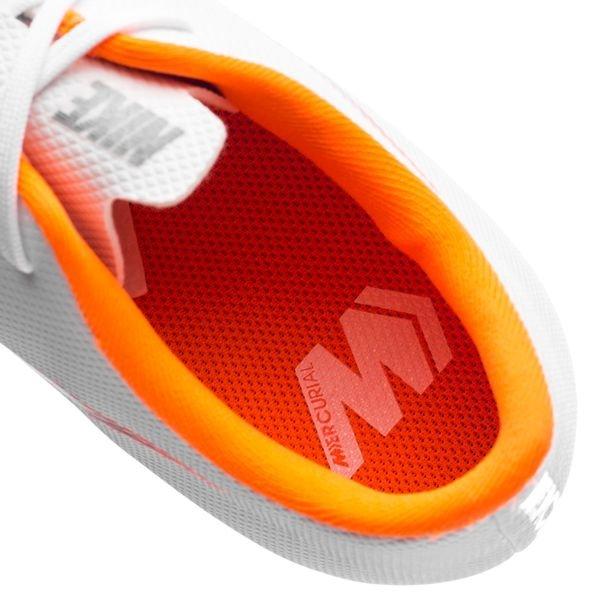 6f106812b45 ... nike mercurial vapor 12 academy mg just do it - wit/oranje kinderen -  voetbalschoenen