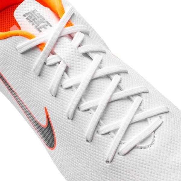 198fb43cdf8 ... nike mercurial vapor 12 academy mg just do it - wit/oranje kinderen -  voetbalschoenen ...