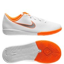 Nike Mercurial VaporX 12 Academy IC Just Do It - Wit/Grijs Kinderen