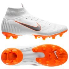 Nike Mercurial Superfly 6 Pro AG-PRO Just Do It - Wit/Oranje