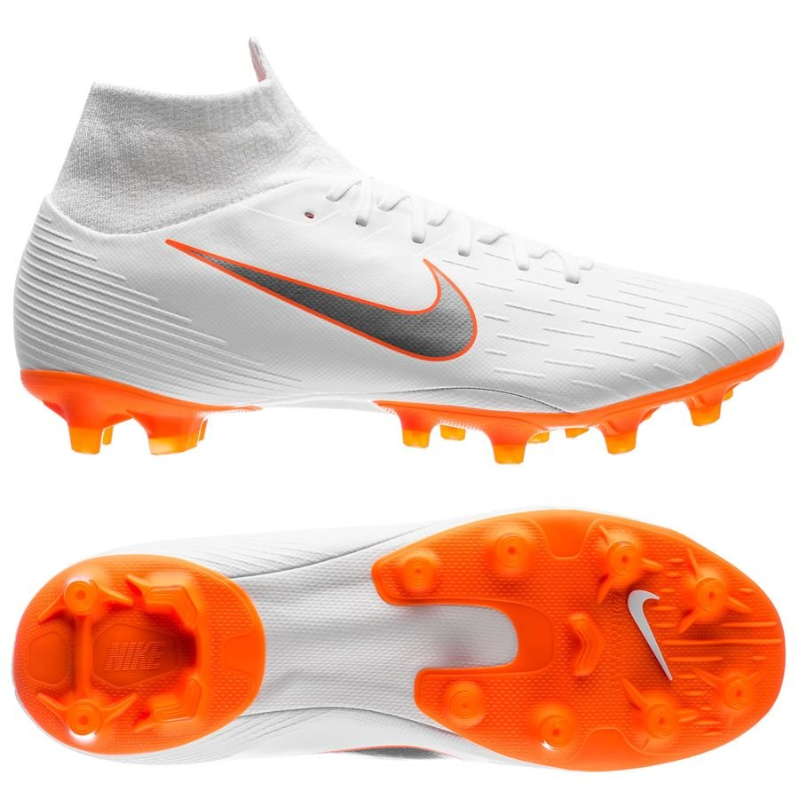 Nike Mercurial Superfly 6 Pro AG-Pro - Hvid/Orange
