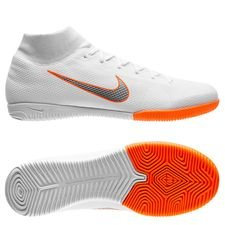 Nike Mercurial SuperflyX 6 Academy IC Just Do It - Wit/Oranje