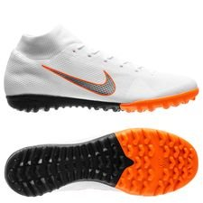 Nike Mercurial SuperflyX 6 Academy TF Just Do It - Wit/Oranje
