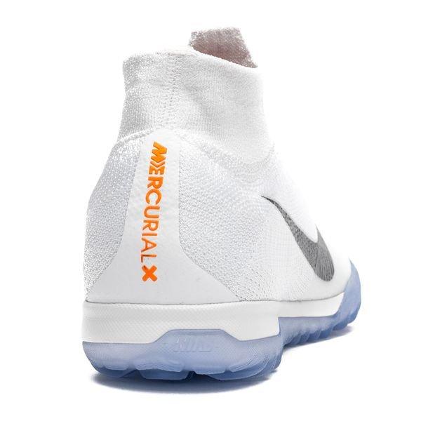 7a358690753 Nike Mercurial SuperflyX 6 Elite TF Just Do It - White Metallic Cool Grey
