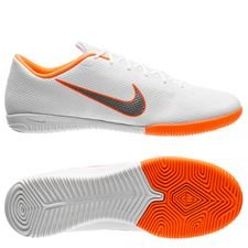 Nike Mercurial VaporX 12 Academy IC Just Do It - Wit/Grijs/Oranje