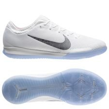 nike mercurial vaporx 12 pro ic just do it - white/cool grey/total orange - indoor shoes