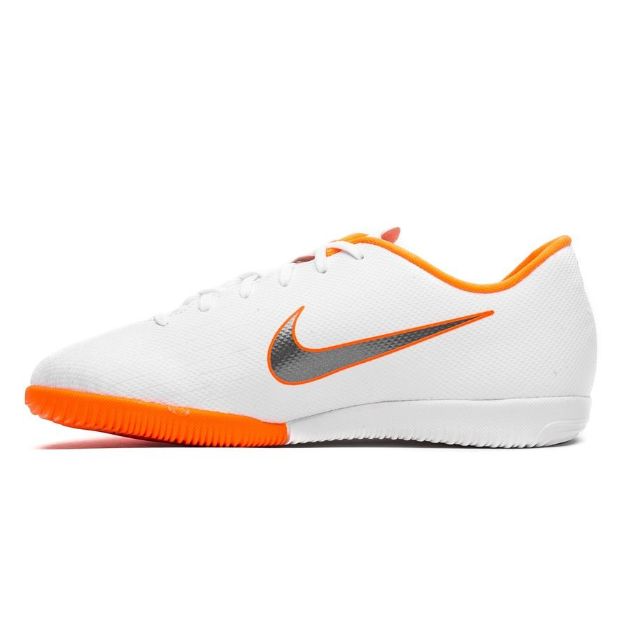 a915bfc44a9 Nike Mercurial VaporX 12 Academy IC Just Do It - White Total Orange Kids