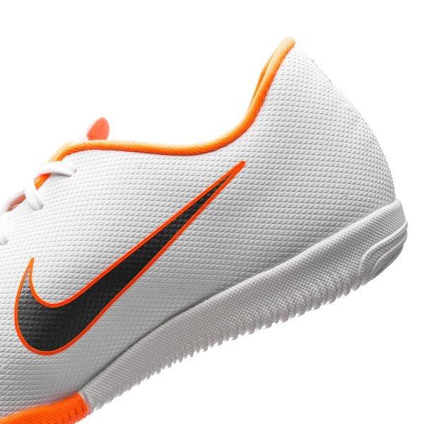 573d9ac5706 Nike Mercurial VaporX 12 Academy IC Just Do It - White Total Orange Kids