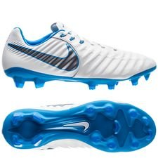 Nike Tiempo Legend 7 Pro FG Just Do It - Wit/Blauw