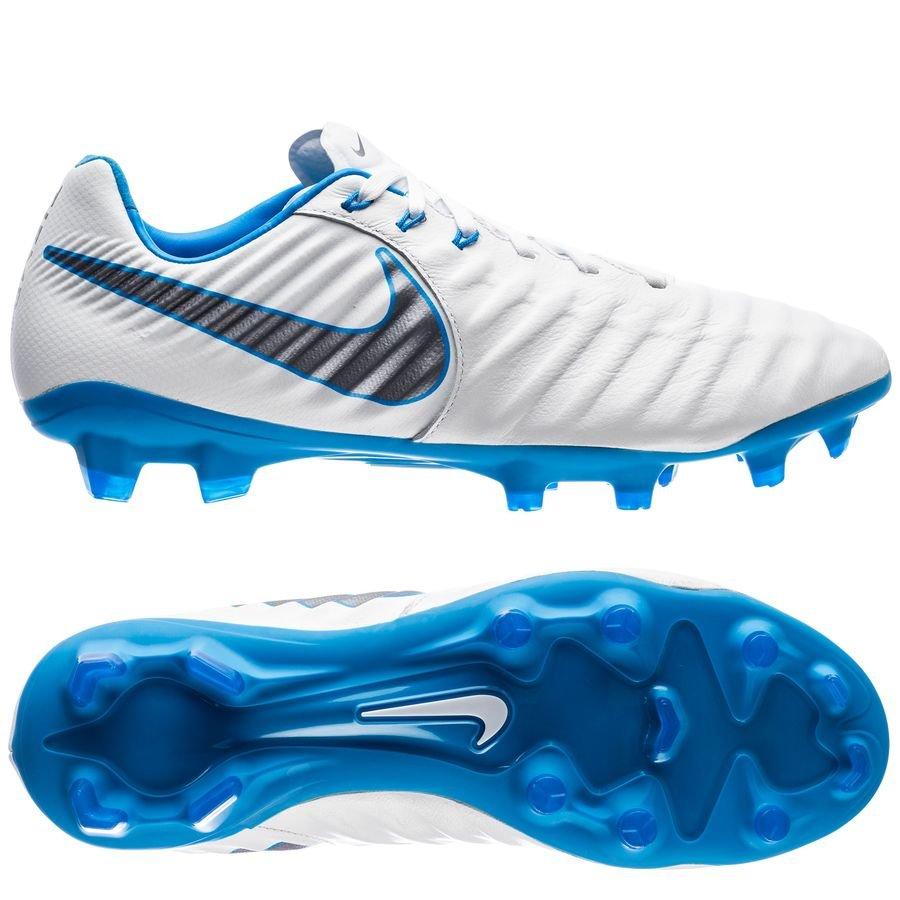 nike tiempo legend 7 pro fg just do it - white blue hero - football ... 82e318b263722