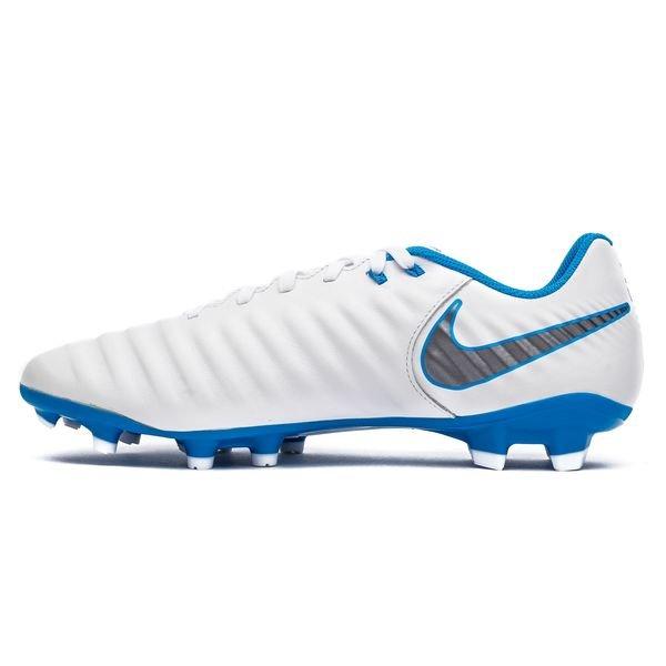 reputable site eb7bd 67ca6 Nike Tiempo Legend 7 Academy FG Just Do It - Wit/Blauw | www ...