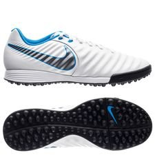 nike tiempo legendx 7 academy tf just do it - white/blue hero - football boots